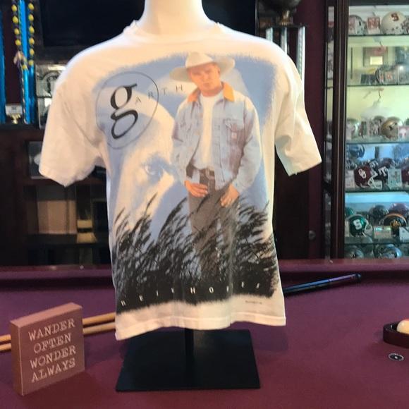 7e9fb51a Hanes Shirts | Vintage Garth Brooks World Tour Shirt All Over Xl ...